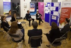 The panel of property industry experts judged the schools' design entries