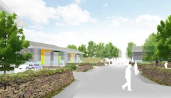 Speculative business park development at Quintrell Downs, Newquay