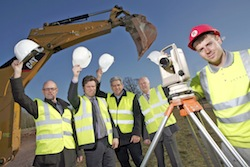 Construction starts at Tern Valley Business Park in Market Drayton