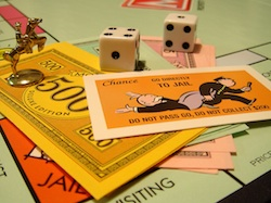 Monopoly is not just a game in the property world