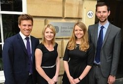 Four new graduate appointments at JLL's Bristol office